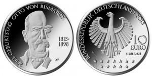 Germany 2015 10 euro Bismarck