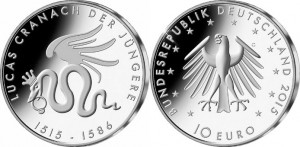 Germany 2015 10 euro Jungere