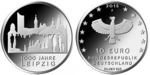 Germany 2015 10 euro Leipzig