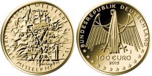 Germany 2015 100 euro UNESCO
