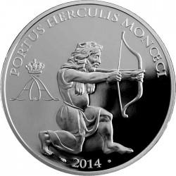 Monaco 2014 .10 euro. Hercules