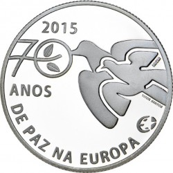 Португалия, 2,5 евро (Ag 925). реверс