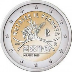 2 euro Italy 2015 EXPO