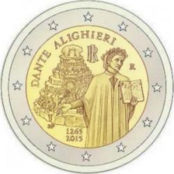 2 euro Italy Dante