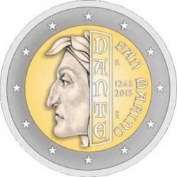 2 euro San-Marino 2015 Dante