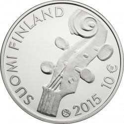 Finland 2015. 10 euro. Jean Sibelius