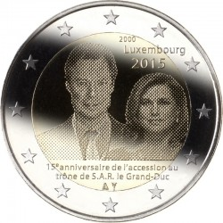 2 euro lux Henri
