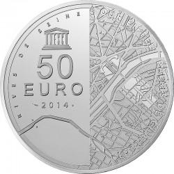 50 евро (Ag 925), реверс