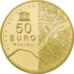 50 евро (Au 999), аверс