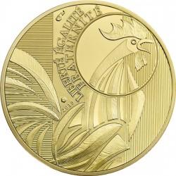 France 2015. 250 euro. Coq
