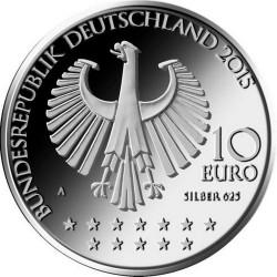 Germany 2015. 10 euro. Bismarck (Ag 625)