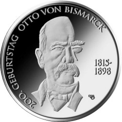 Germany 2015. 10 euro. Bismarck