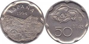 Spain 1994. 50 Pesetas. Altamira