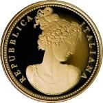 Италия представила новые монеты серий «Флора в искусстве» и «Фауна в искусстве»