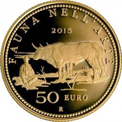Italy 2015. 50 euro. fauna