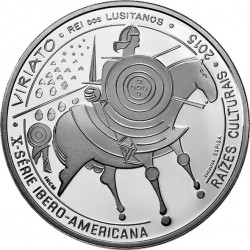 Portugal 2015. 7.5 euro. Viriato (Ag 925)