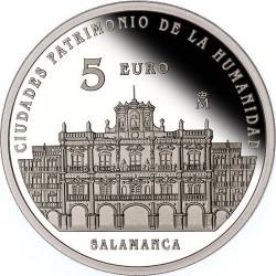 Spain 2015. 5 euro. Salamanca