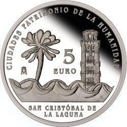 Spain 2015. 5 euro. San Cristobal de la Laguna