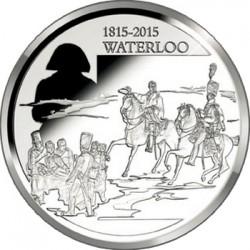 Belgium 2015. 10 euro. Waterloo