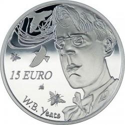 Ireland 2015. 15 euro. Yeats