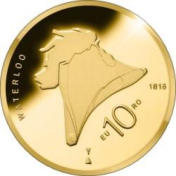 Netherlands 2015. 10 euro. Waterloo