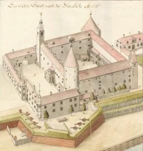 Riga Castle old