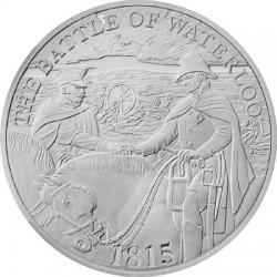UK 2015. 5 pounds. Waterloo. Ag 925