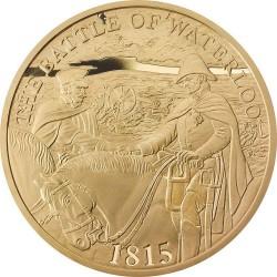 UK 2015. 5 pounds. Waterloo. Au 900
