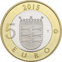Finland 2015. 5 euro. Ostrobothnia
