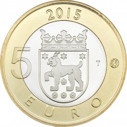 Finland 2015. 5 euro. Tavastia