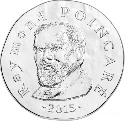 France 2015. 10 euro. Poincare