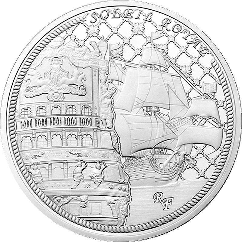 Франция 10 евро корабль монеты венесуэла