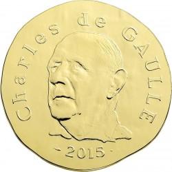 France 2015. 200 euro. Charles de Gaulle
