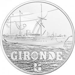 France 2015. 50 euro (Ag 950). Gironde