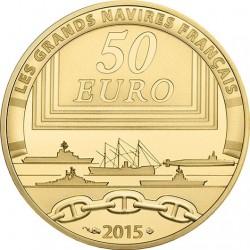 France 2015. 50 euro. Colbert (Au 920)