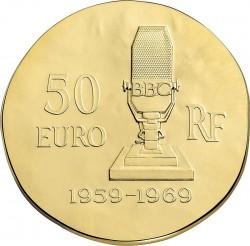 France 2015. 50 euro. Charles de Gaulle
