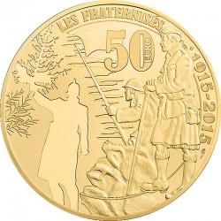 50 евро (Au 920), реверс