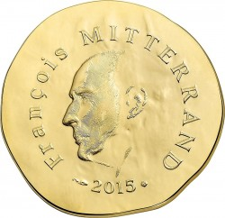 France 2015. 50 euro. Mitterrand