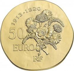 France 2015. 50 euro. Poincare