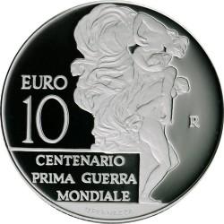 Italy 2015. 10 euro. WWI