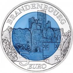 Luxemburg 2015. 5 euro. Brandenbourg