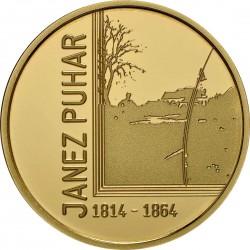 Slovenia 2014. 100 euro. Janez Puhar