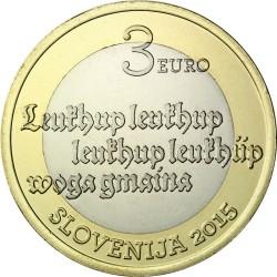Slovenia 2015. 3 euro. Gmaina