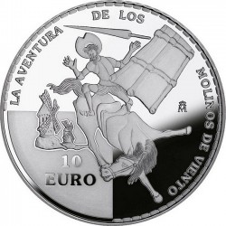 Spain 2005. 10 euro. Don Quijote