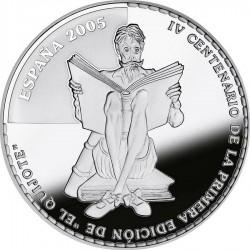 Spain 2005. 10 euro. Don Quijote