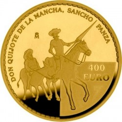 Spain 2005. 400 euro. Don Quijote