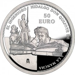 Spain 2005. 50 euro. Don Quijote