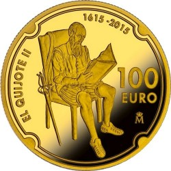 Spain 2015. 100 euro. Don Quijote