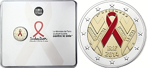 2 euro France 2014 AIDs