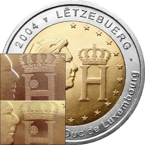 2 euro Luxembourg 2004